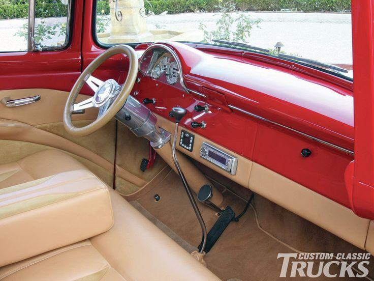 1956 Ford F100 Interior 1956 Ford F100 Pickup Interior
