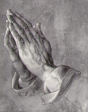 "TRADUIRE ET VÉRIFIER  My Brother's Hands - True Story - Albrecht Durer - ""the praying hands"" Read the story if you don't know it."