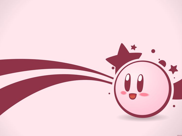 Cute Kirby Wallpaper ) Geekery Station. Pinterest