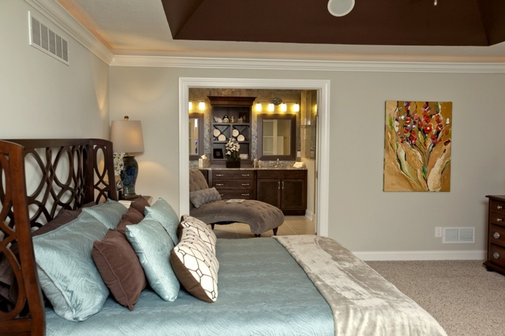 Spacious Master Bedroom Design By 3 Pillar Homes This Master Bedroom Features A Deep Angled