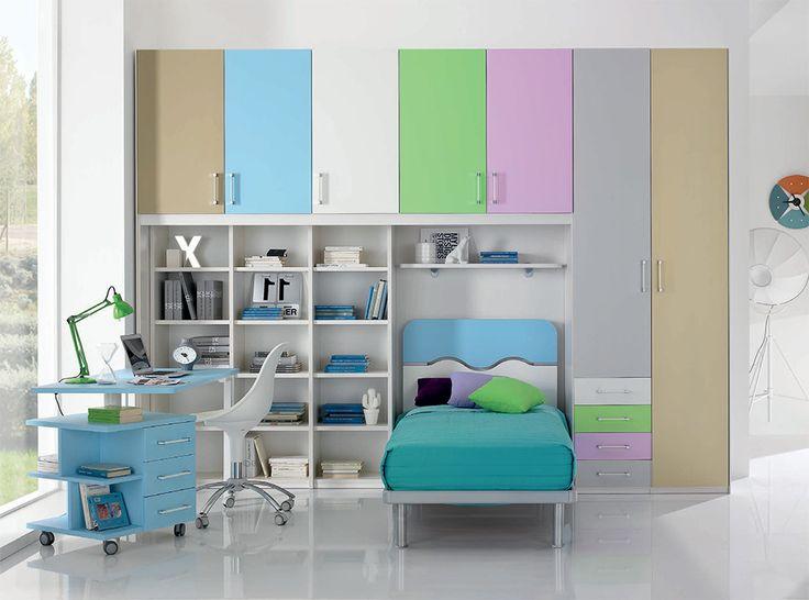 Italian Kids Bedroom Furniture Set WEB 50 by SPAR