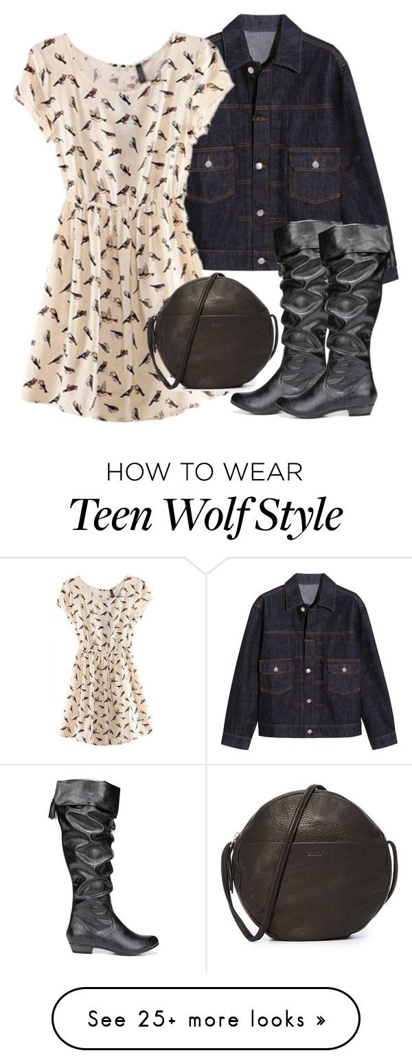"""Allison Inspired Outfit - Teen Wolf"" by clawsandclothes on Polyvore featuring AlexaChung, Fergie and BAGGU"