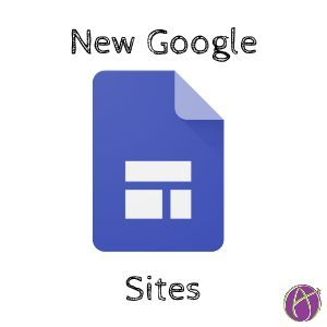 Finally.... New Google Sites
