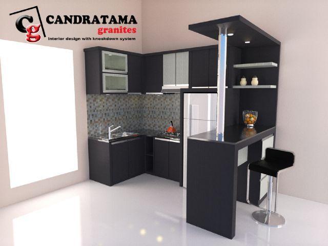 interior kediri - interior malang - interior blitar - interior nganjuk - interior tulungagung - interior trenggalek - interior jombang - kitchen set - mini bar - dapur - minimalis - modern