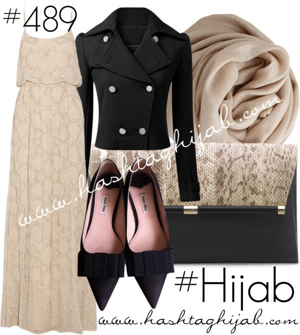 Hashtag Hijab Outfit - so claaaassy!