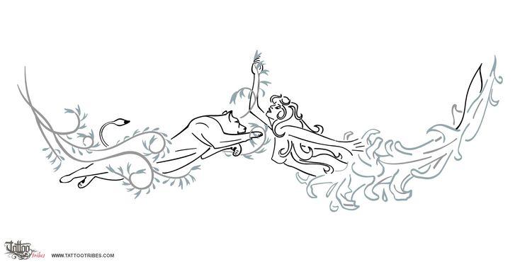 TATTOO TRIBES - Dai forma ai tuoi sogni, Tatuaggi con significato - ariel, leonessa, sirena, gladiolo, acqua, forza, carattere, generosità, femminilità, seduzione, vita