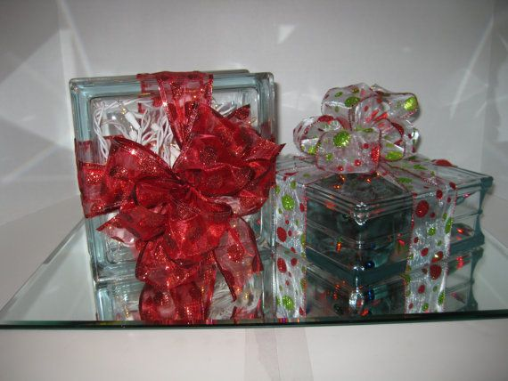 558 best images about glass blocks on pinterest crafts for Clear glass blocks for crafts