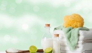 DIY ginger detox bath