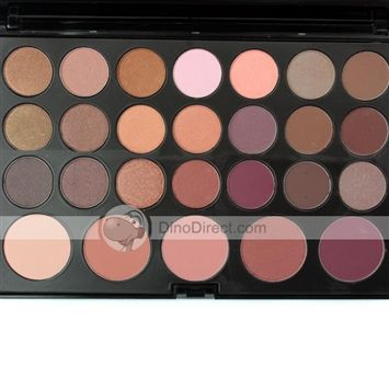 Iquhuo™ 21 Colors Design Makeup Smooth Hold Eye Shadow & 5 Colors Blushbooster
