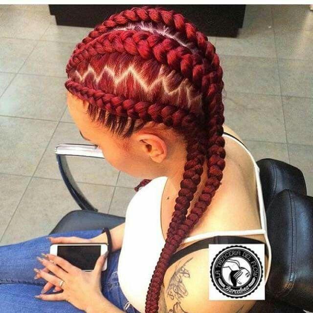 Red braids