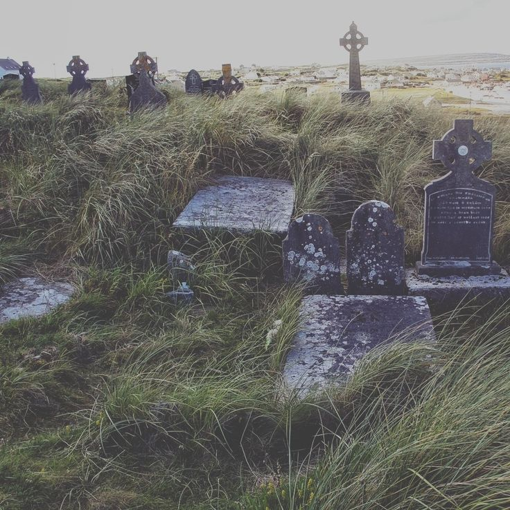 Cemetery on Inis Oírr, Aran Islands, Ireland