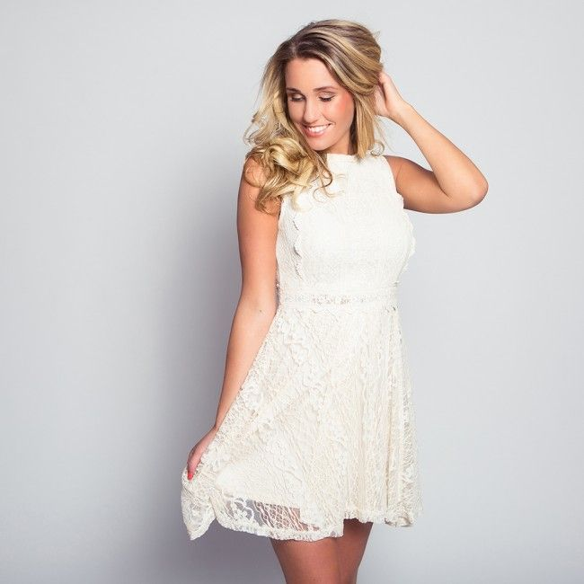 Lace Romance Dress - Now available @ www.myfavouritemusthaves.com #newarrivals #lacedress