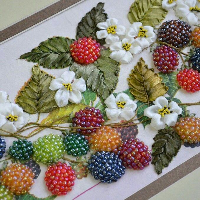 An idea to add embellisment to a crazy wall hanging?