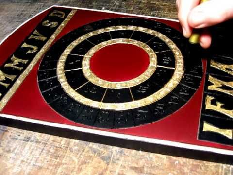 Calendar of signs and calendar clock by Mircea Jichici. https://www.facebook.com/jichici.mircea https://www.facebook.com/pages/Mircea-Jichici-painting/284399895040599 http://www.youtube.com/user/MrJichici
