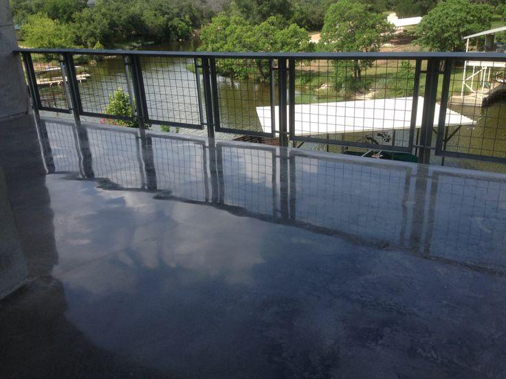 Polished Concrete Element 7. Geschliffener BetonDekorativer Beton