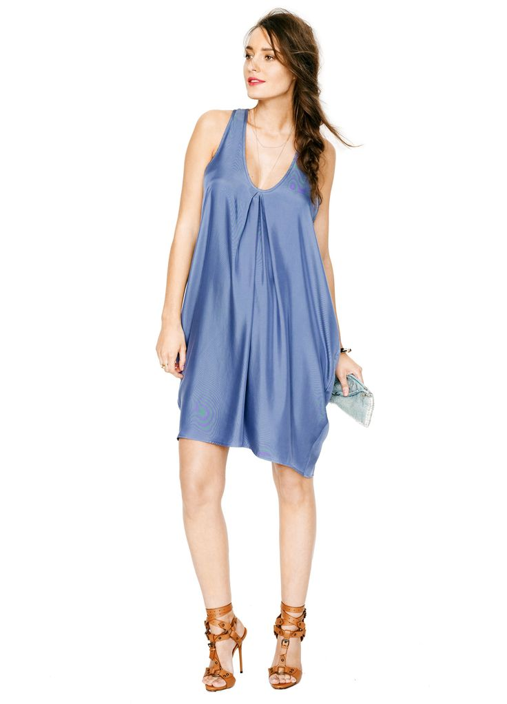 #madeformum giveaway entry: The Tulip Dress in Blue Cupro by @Sara Hatch Collection