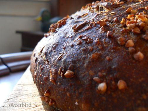 ... bread chocolate and chestnut sourdough bread pane al cioccolato bread