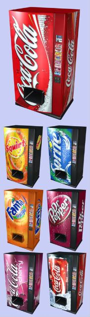 Pepsi & Coke - Drink Vending Machines