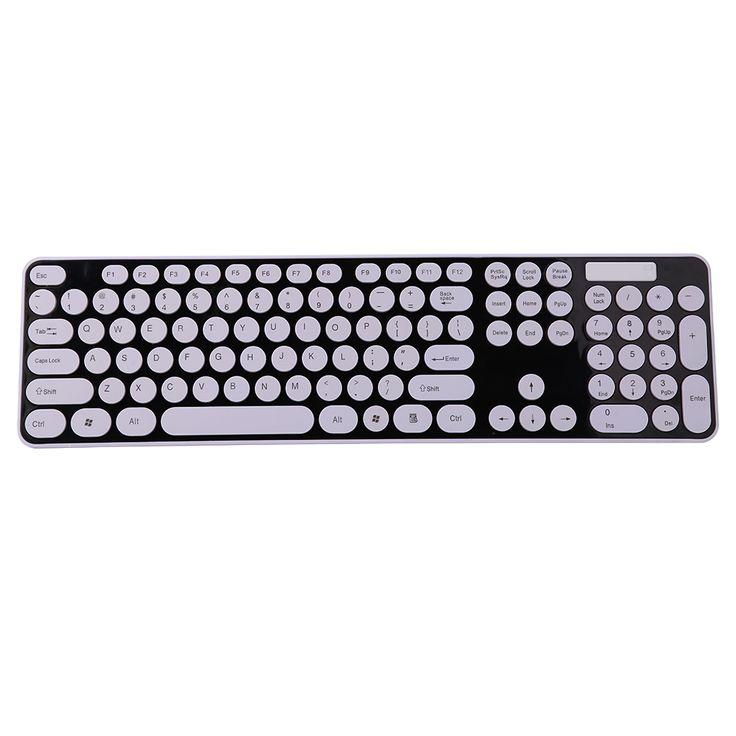 2.4G Bezprzewodowy Combo Myszy + 2.4G Wireless Keyboard z Okrągłym nasadek Klawiszy klawiatury myszy na komputerze przenośnym w                                                           2.4G Bezprzewodowy Combo Myszy + 2.4G Wireless Keyboard z Okrą od Keyboard Mouse Combos na Aliexpress.com | Grupa Alibaba