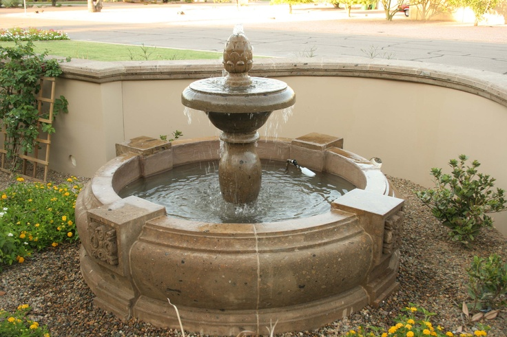 17 best images about fountains on pinterest wall - Spanish style water fountains ...