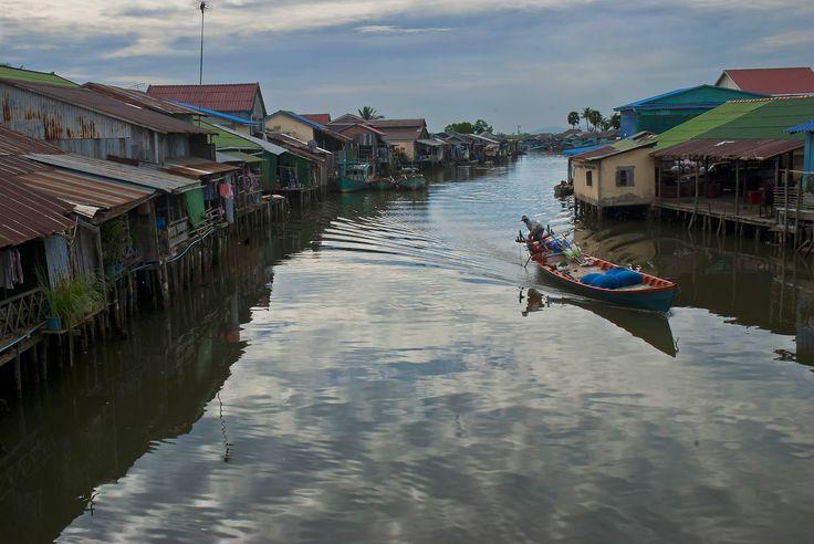 Cambodia Canal Grande - Kampot, Kampot