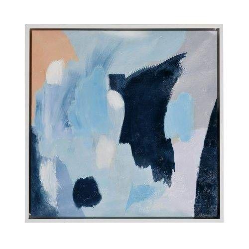 PURCHASED Mercer + Reid Luxe Canvas Blue, artwork, wall art