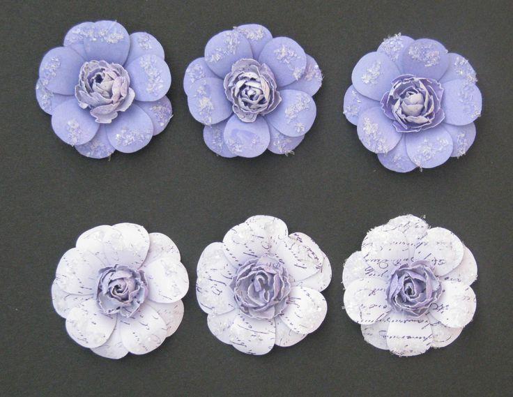 Purple flowers - Scrapbook.com