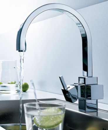 Electrolux Kitchen Faucet Brings You Cold Filtered Water Ready To Drink