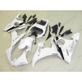 Yamaha YZF-R6 2003-2004 Injection ABS Fairing - Others - White/Silver | $639.00