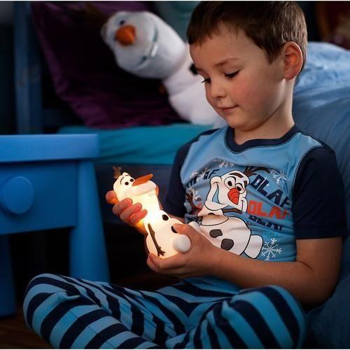 Verspieltes LED Nachtlicht SoftPal Olaf