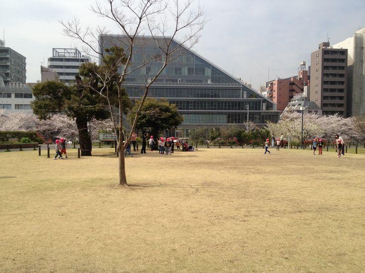 Nakameguro Park http://tokyostroller.com/fun-stuff/outdoor-activities/nakameguro-park/