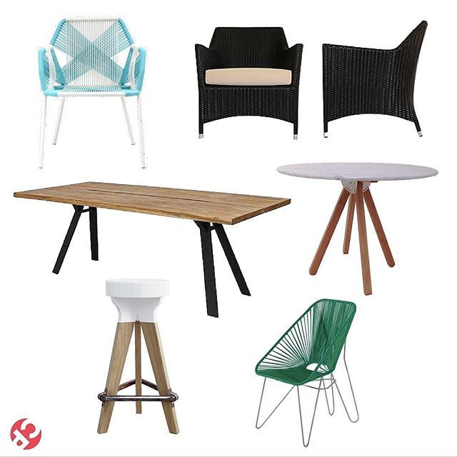 And wah-la! Here it is. A few more of our favourite pieces of make your outdoors look fabulous! Just like you Padders.... Fabulous!  Top left, Astro Arm Chair, Porto Lounge Arm Chair, OU Dining Table, Omni Dining Table, Pylon Bar Stool and Oaxaca Chair.