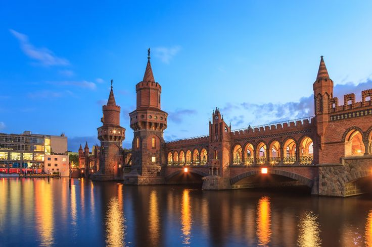 Le Pont d'Oberbaum à Berlin