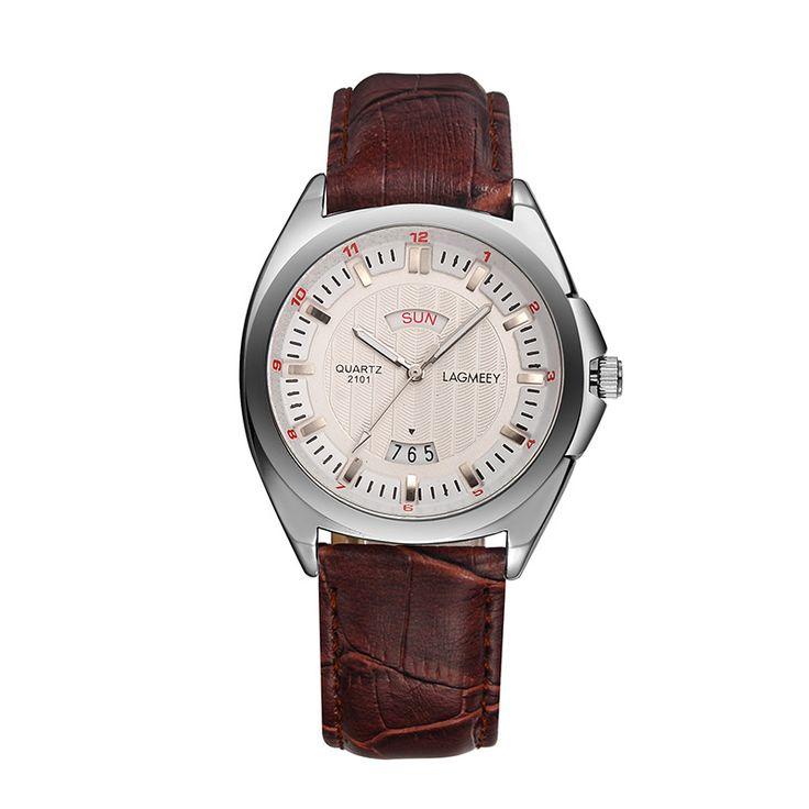 $32.68 (Buy here: https://alitems.com/g/1e8d114494ebda23ff8b16525dc3e8/?i=5&ulp=https%3A%2F%2Fwww.aliexpress.com%2Fitem%2F2016-Luxury-Male-Watches-Mens-Watches-Top-Brand-Leather-Quartz-Watch-Men-Wristwatch-Relogio-Masculino-Double%2F32723379878.html ) 2016 Luxury Male Watches Mens Watches Top Brand Leather Quartz Watch Men Wristwatch Relogio Masculino Double Calendar Watches for just $32.68