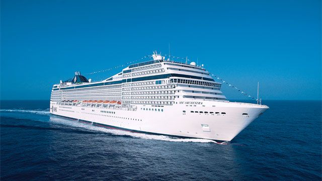 MSC Orchestra Repositioning Cruise