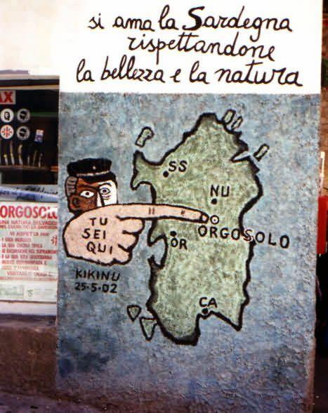Orgosolo #Sardegna #Italy
