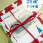 homemade scratch-off tickets (fun stocking stuffers!)