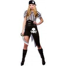 Schiffbrüchige Piratenbraut Kostüm