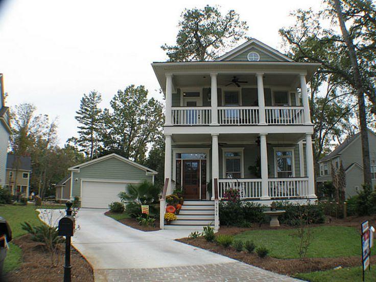 14 wonderful charleston style house architecture plans 43500. Black Bedroom Furniture Sets. Home Design Ideas