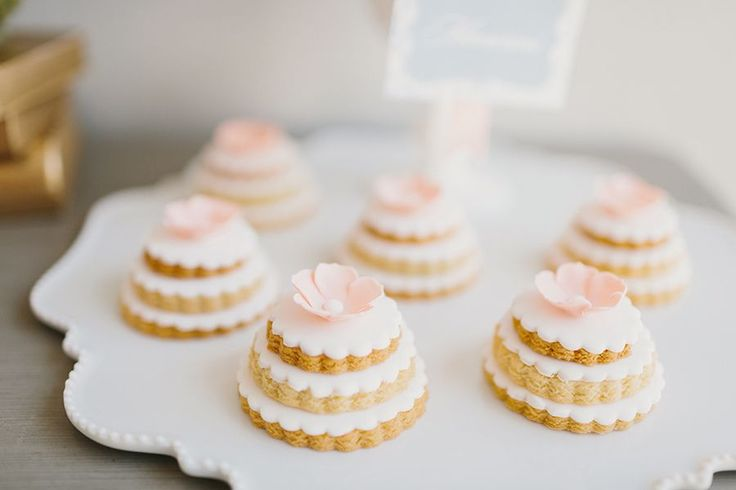 stacked wedding cake cookie favors wedding cake cookies stacked cookies white pink 20462