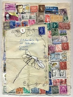 love this have loads of stamps from when i was in my teens, what a great way to use