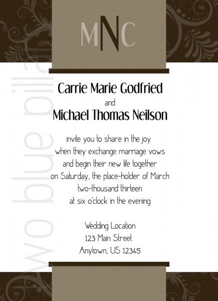 Wedding Invitation Photo Ideas as adorable invitation sample