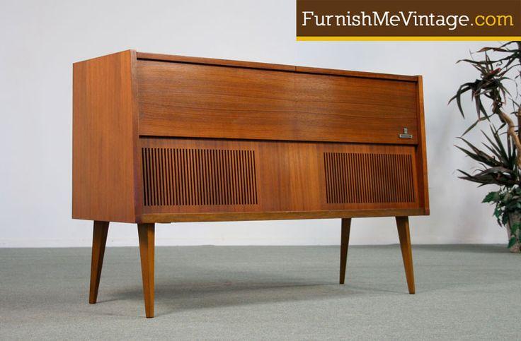 Vintage grundig stereo console