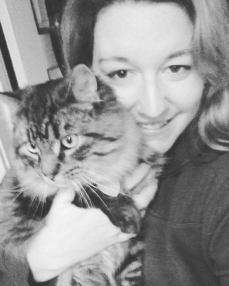 #blackandwhitefilter #selfie #mancoon #cat #maincoon #cat #malecat #plussizeandproud #pet #petcat