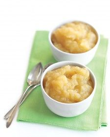 applesauce - very yummy after adding some cinnamon