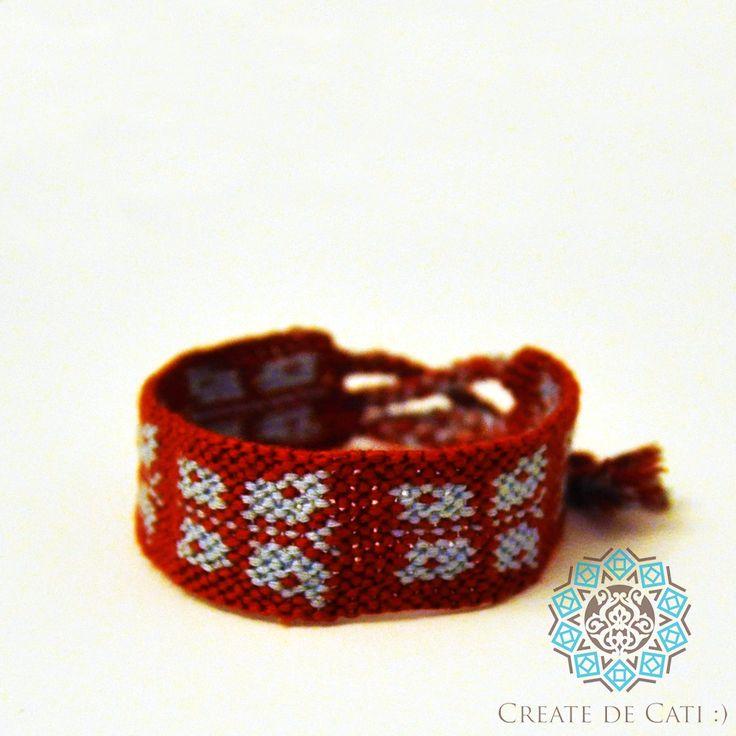 Friendship bracelet with butterflies