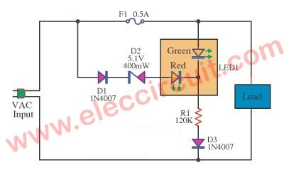 fuse failure alarm with 2 led light electronics battery charger