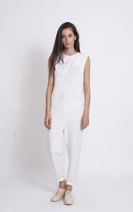 White jumpsuit   Adelina Ivan Studio