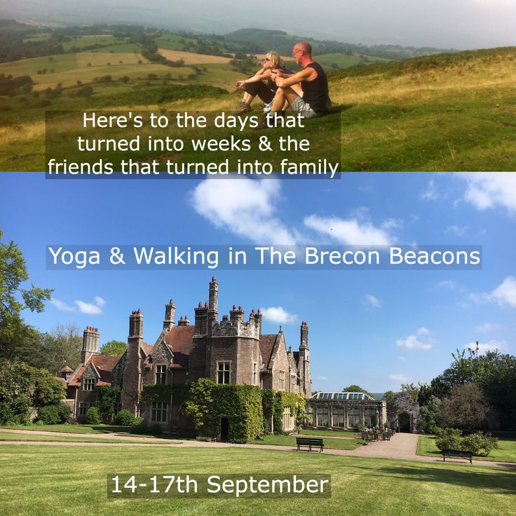 We're heading for the hills! Join us for a long weekend of gentle yoga & walking  in this charming country house in The Brecon Beacons 14 - 17 September   #yoga #yogaretreat #breconbeacons #blackmountains #treberfyddhouse