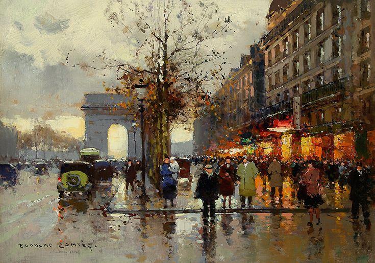 Champs-Élysées    Artist: Edouard Cortes